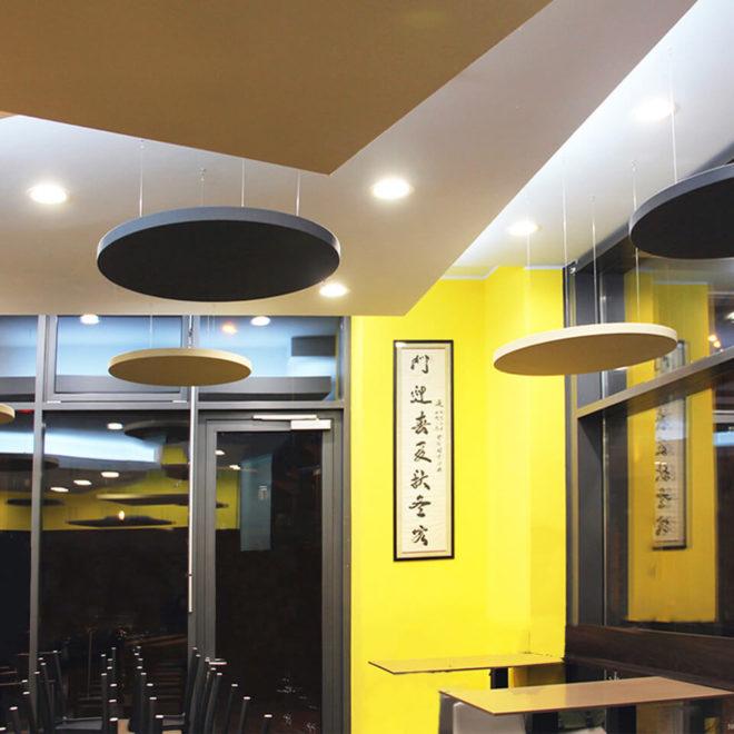 paneles-fonoabsorbentes-para-restaurantes-redondos-lunar