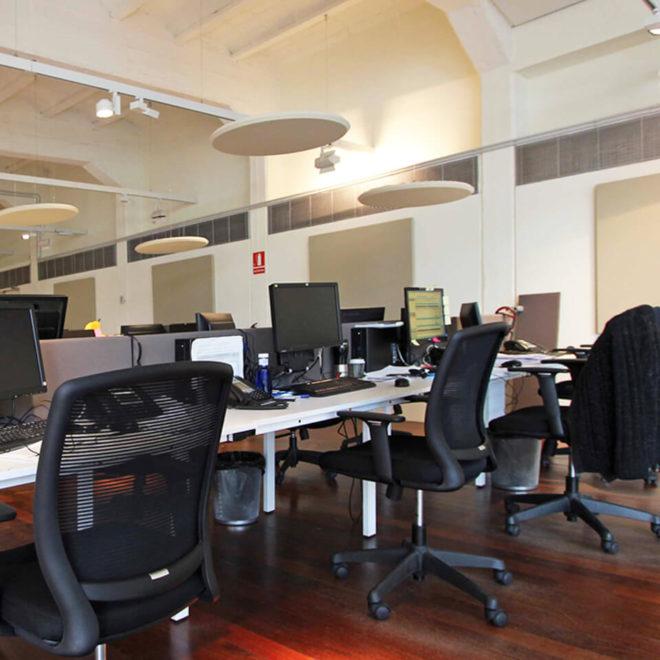 paneles-fonoabsorbentes-redondos-oficinas-lunar-goodvibes