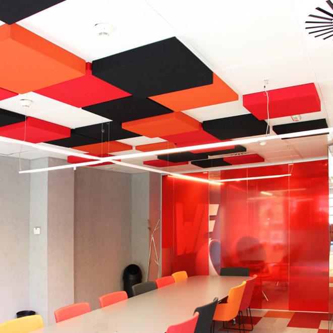 paneles-fonoabsorbentes-techo-diferentes-espesores